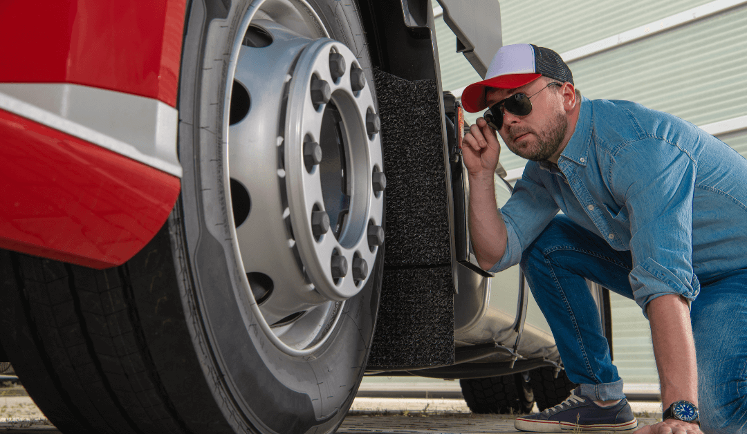 Semi Truck Wheel alignment is necessary for safe driving
